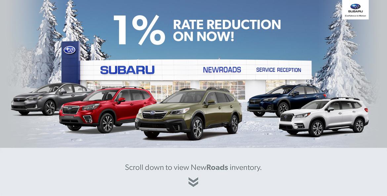 Newmarket Subaru specials