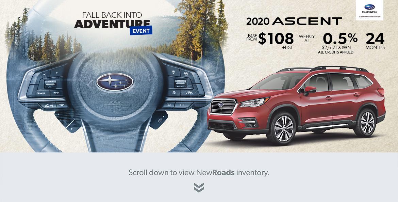 Subaru Ascent Newmarket Ontario