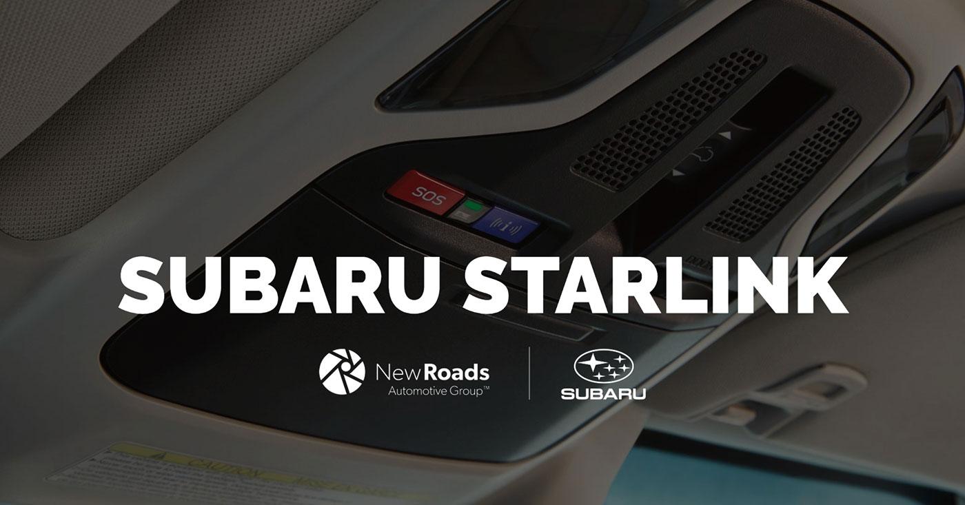 Subaru Starlink Connected Services