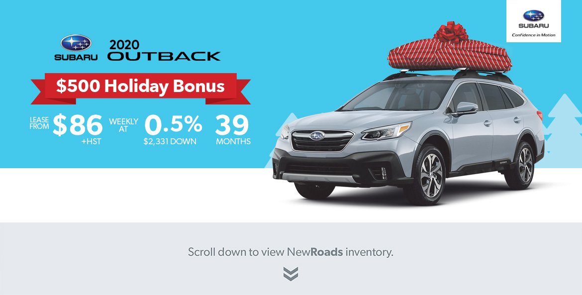 Subaru Outback for sale in Newmarket Ontario