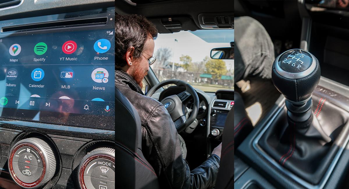 Interior Subaru WRX
