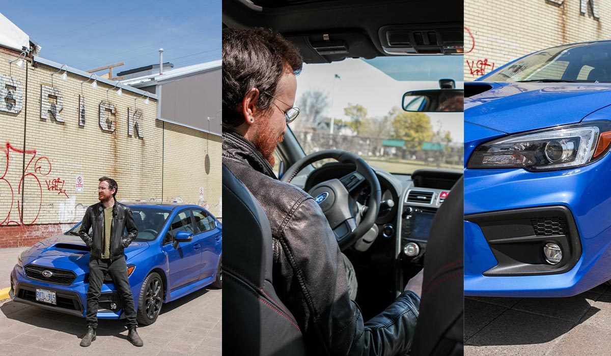 Subaru WRX in Toronto
